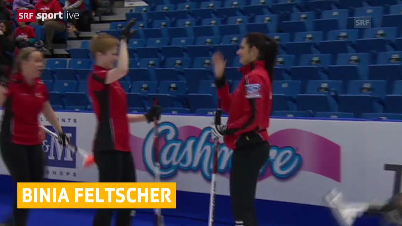 Curling: Schweizerinnen mit 6. und 7. Sieg («sportlive»)