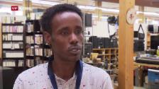 Video «Von der Schwierigkeit, mit Ausweis F eine feste Stelle zu finden» abspielen