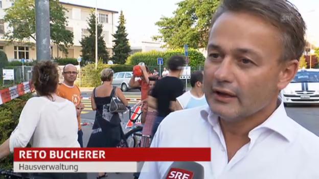 Video «Verwalter Reto Bucherer: «Pläne der Polizei übergeben»» abspielen