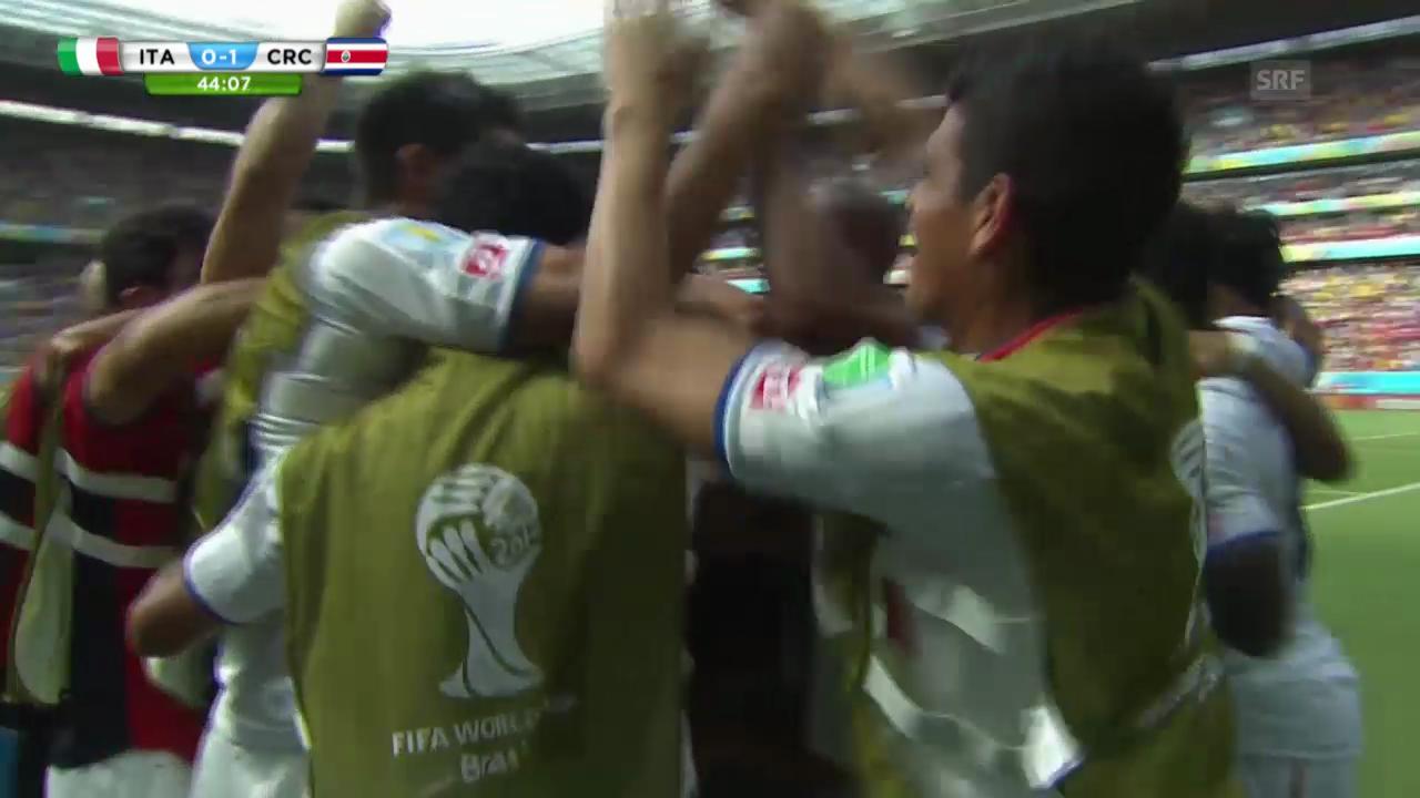 Ds 1:0 für Costa Rica