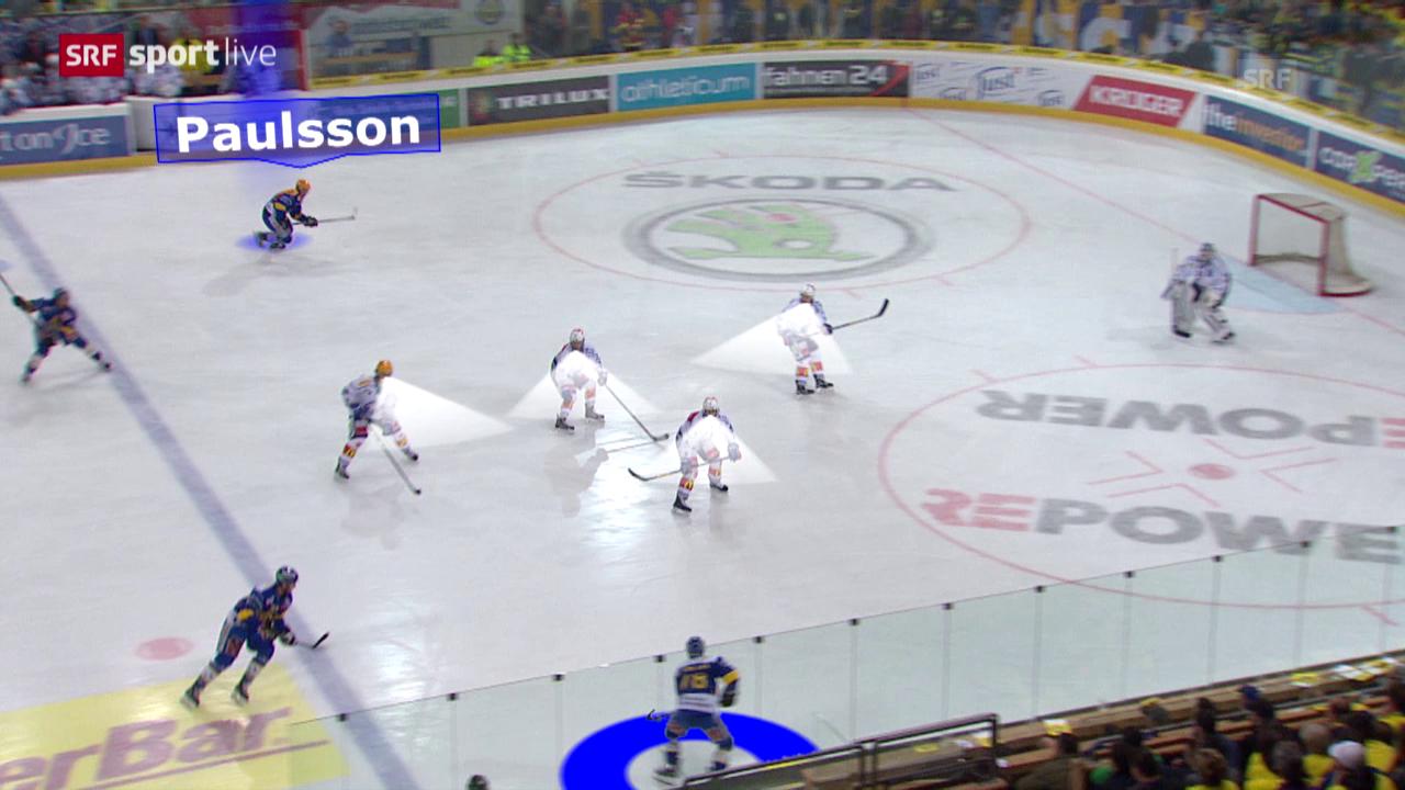 Eishockey: Playoff-Final, Davos - ZSC Lions: Jan von Arx' Geniestreich in Spiel 4