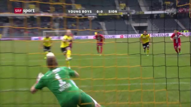 Video «Highlights Young Boys - Sion («sportpanorama»)» abspielen