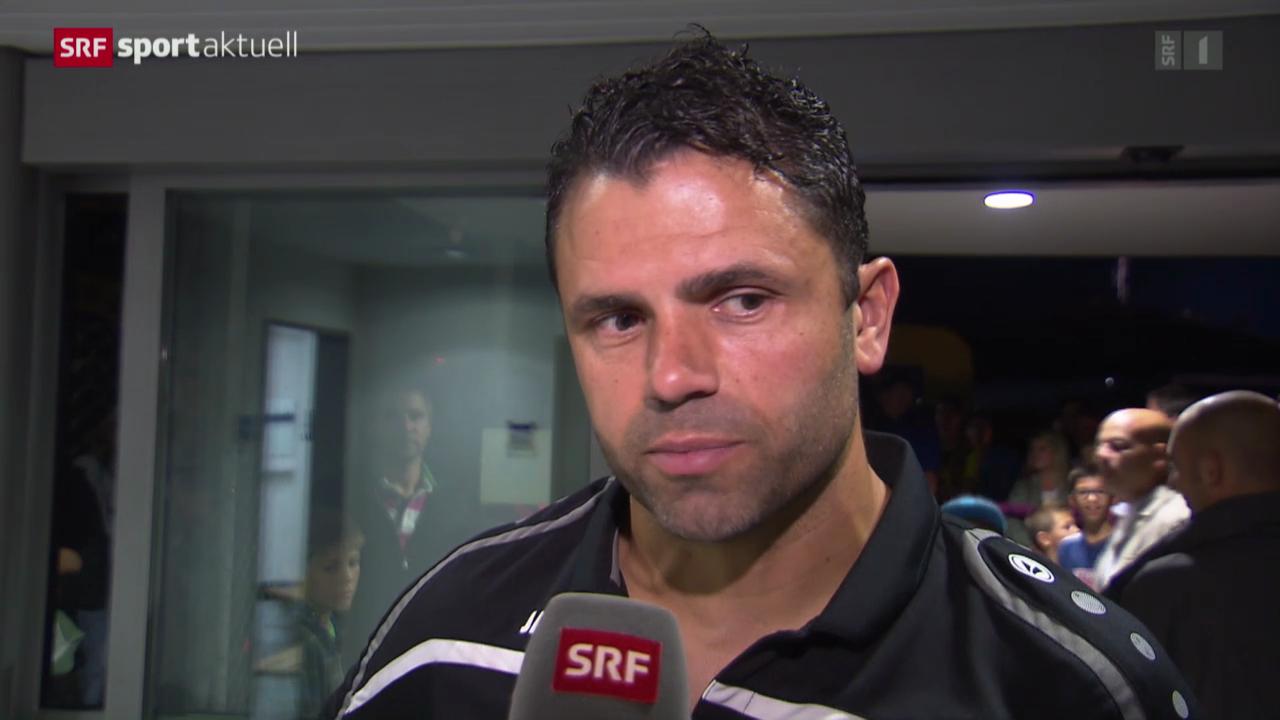 Fussball: Schweizer Cup, Interview mit Uli Forte