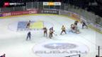 Video «Eishockey: Playoff-Halbfinal, ZSC Lions - Genf» abspielen