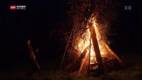 Video «1. August-Feiern: Höhenfeuer und Festessen, Pilgerreise nach Bern» abspielen