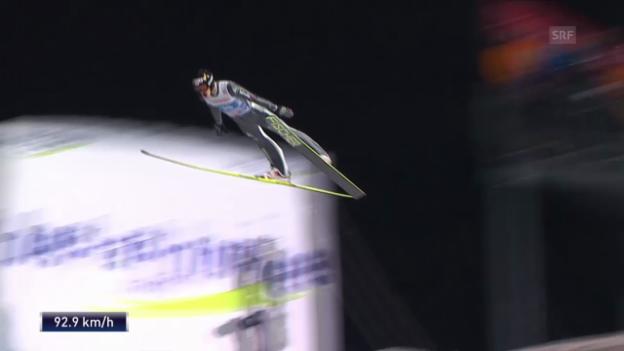 Video «Skispringen: Vierschanzentournee in Oberstdorf («sportlive», 29.12.2013)» abspielen