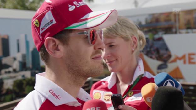 Video «Vettel über seine Margherita» abspielen