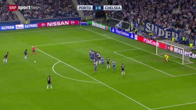 Video «Fussball: Champions League, Gruppenphase, 2. Spieltag, Porto - Chelsea» abspielen