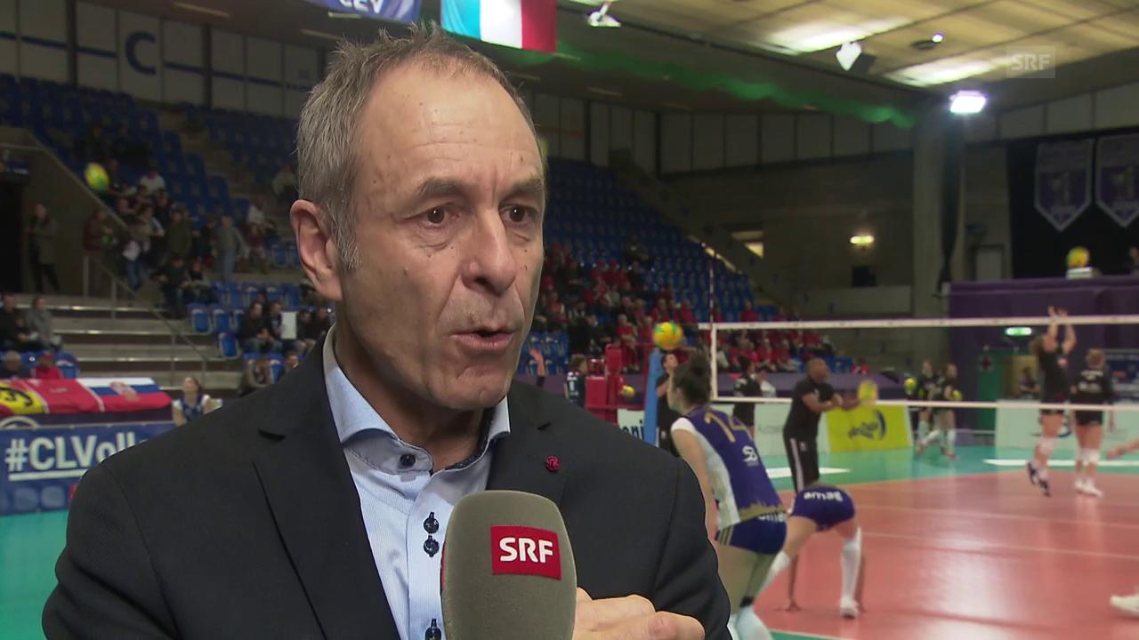 Swiss-Volley-CEO: «Lachendes und weinendes Auge»