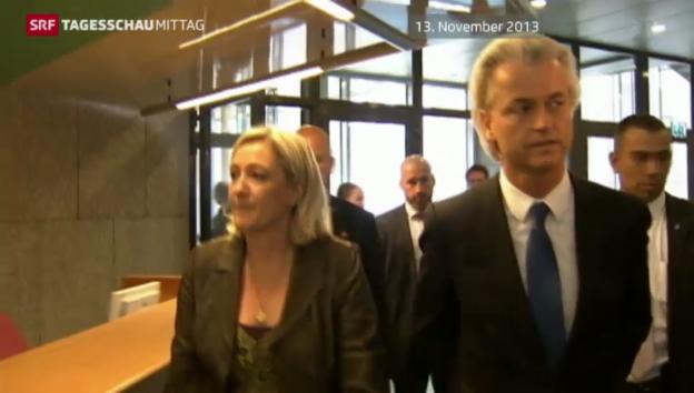 Video «Keine Fraktion der Rechtspopulisten im Europa-Parlament» abspielen