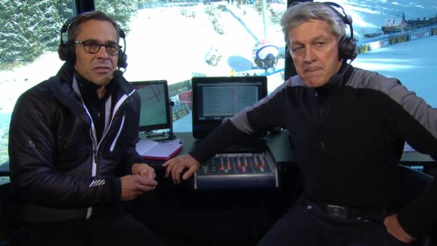Video «Ski: Weltcup Wengen, Thesen Russi/Hüppi Teil 5» abspielen