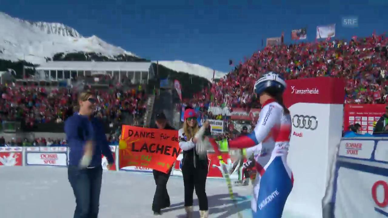 Ski alpin: Die Fahrt von Fränzi Aufdenblatten («sportlive», 12.03.2013)