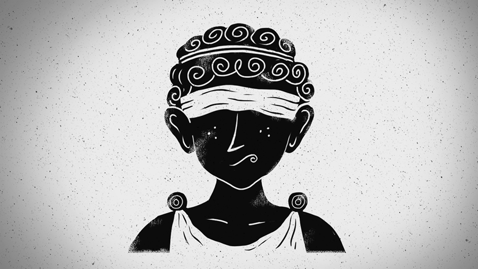 Sokrates und Xanthippe - Schleier der Ignoranz