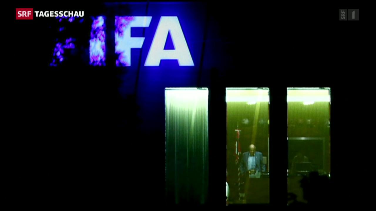 Blatter versus Platini