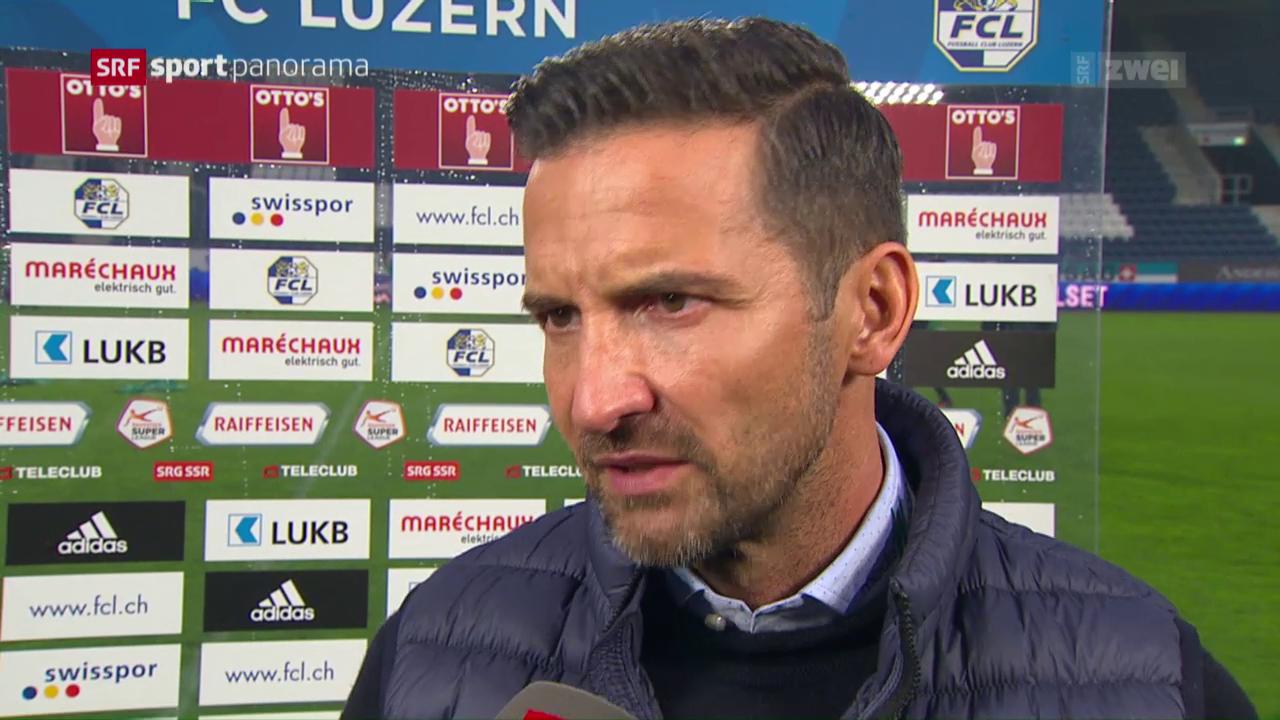 Fussball: Die Stimmen zu Luzern - St. Gallen