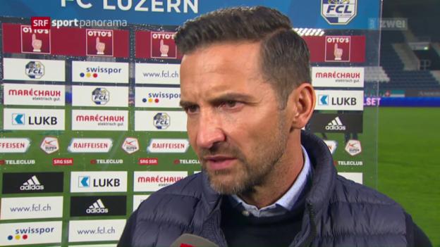 Video «Fussball: Die Stimmen zu Luzern - St. Gallen» abspielen