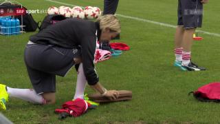 Video «Fussball: Frauen-EURO, Schweiz - Frankreich: Voss-Tecklenburg» abspielen