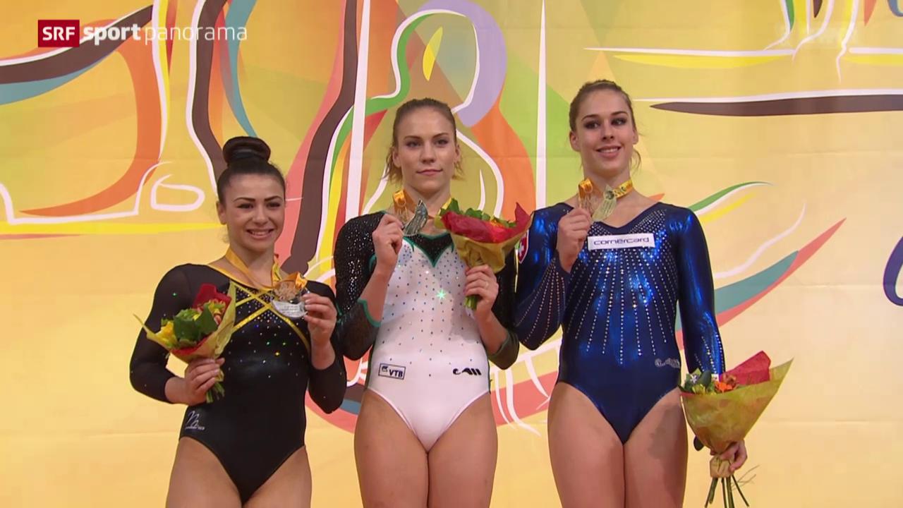 Turnen: EM 2015, Gerätefinals Frauen