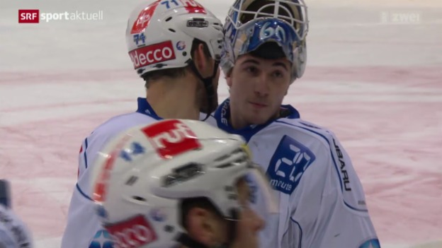 Video «Eishockey: Biel - ZSC Lions» abspielen