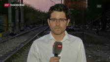 Video «SRF-Sonderkorrespondent Rathgeb zur aktuellen Lage in Mazedonien» abspielen