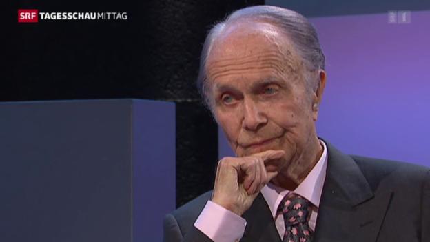 Video «Bankier Hans Vontobel ist tot» abspielen
