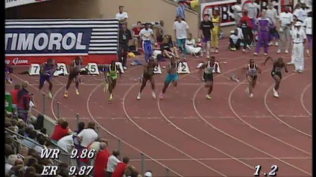 Weltrekorde bei der Athletissima
