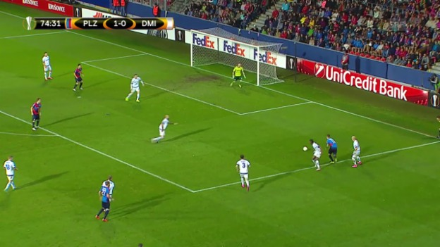 Video «Fussball: Europa League, Pilsen – Dynamo Minsk» abspielen