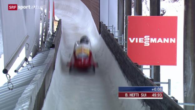 Video «Bob: WM, Zweierbob in Winterberg» abspielen