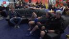 Video «Eishockey: Crawford und Del Curto vor dem Playoff-Final» abspielen