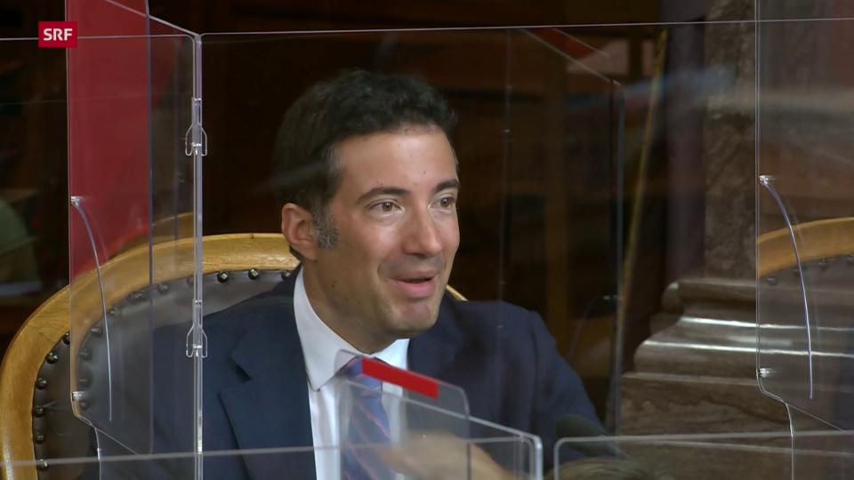 Andrea Caroni (FDP/AR): «Geht um Stärkung der Handlungsfähigkeit»