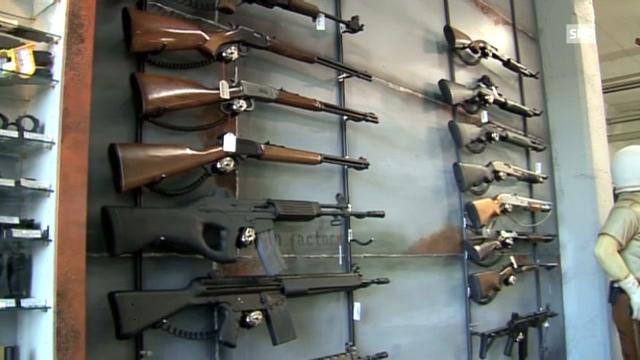 Zu leicht oder ausreichend? Der Waffenzugang in der Schweiz