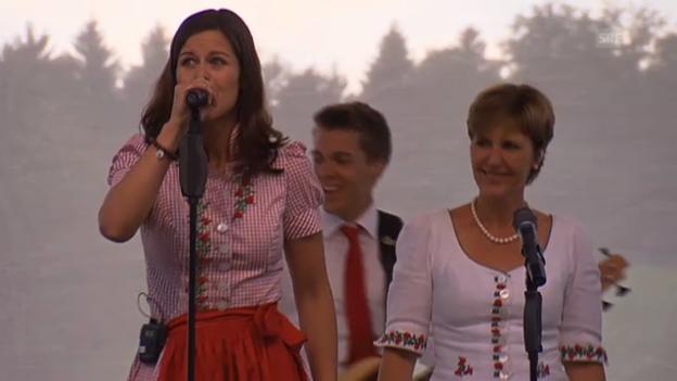 Video «Das ist der Muni-Song «Da da Muh»» abspielen