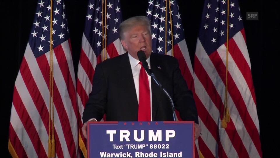 Donald Trump lästert über John Kasich
