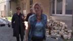 Video «Susanne Kunz in einer Gastrolle in «Der Bestatter»» abspielen