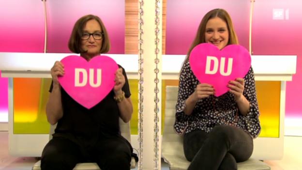 Video ««Ich oder Du» mit Katja Früh und Lisa Maria Bärenbold» abspielen