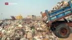 Video «Plastikabfälle in Indien» abspielen