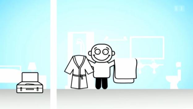 Video ««Darf man das?»: Souvenirs aus dem Hotelzimmer» abspielen
