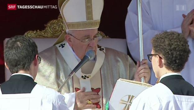 Video «Die Seligsprechung von Paul VI.» abspielen