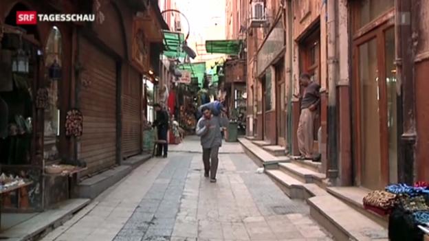 Video «Ägyptens Wirtschaft auf Talfahrt.» abspielen