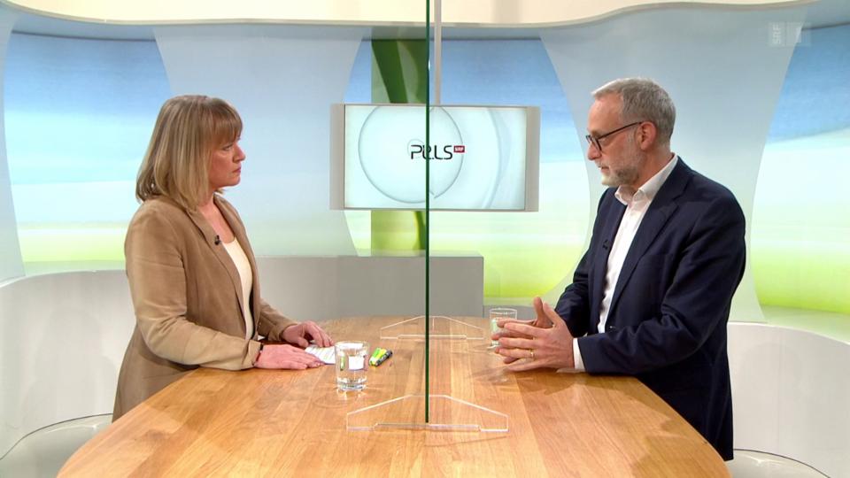 Studiogespräch mit Spitaldirektor Rolf Zehnder über aufgeschobene OPs, den Nutzen von Zusatzversicherungen und Lehren für die mögliche dritte Welle.