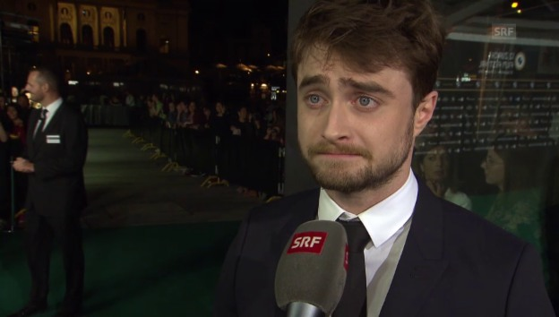 Video «Daniel Radcliffe über Harry Potter» abspielen