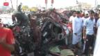 Video «Bombenanschläge im Irak» abspielen