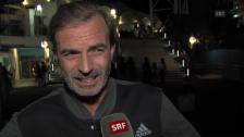 Link öffnet eine Lightbox. Video Günthard: «Es macht Federer unglaublich Spass» abspielen