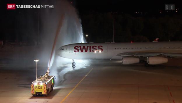 Video «Schweizer Nati in Brasilien gelandet» abspielen