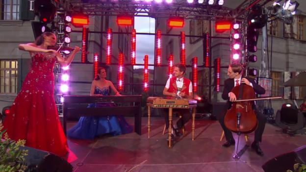 Video «Nicolas Senn und Trio Fontane» abspielen