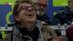 Video «Blick zurück auf Spiel 4 zwischen Bern und Lugano mit «Fan» Wädi Gysi» abspielen