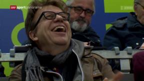 Video «Eishockey: Blick zurück auf das Playoff-Finalspiel 4» abspielen