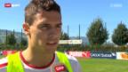 Video «Fussball: Fabian Schär gegen Island wohl in der Startelf» abspielen