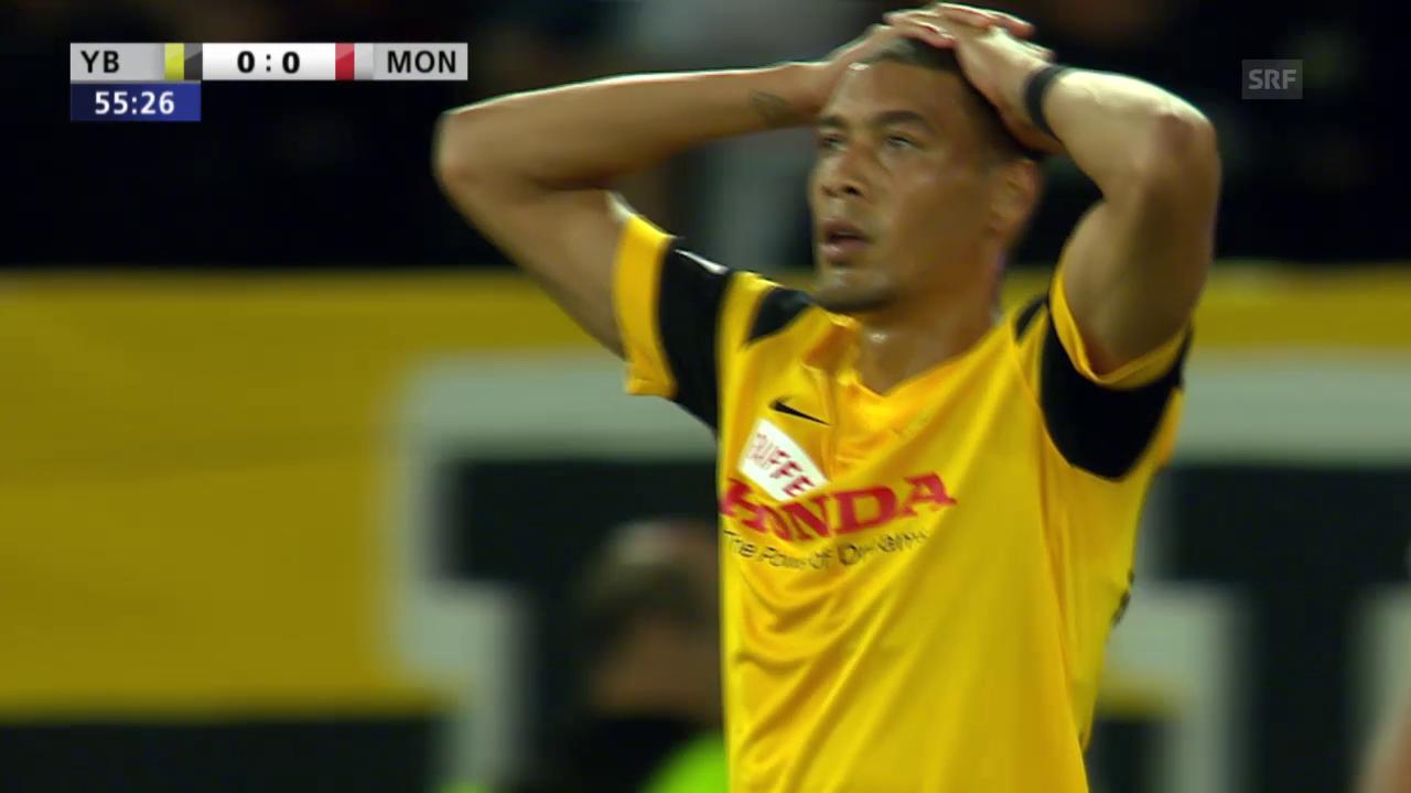Fussball: Champions League, YB-Monaco, 3 Topchance für YB