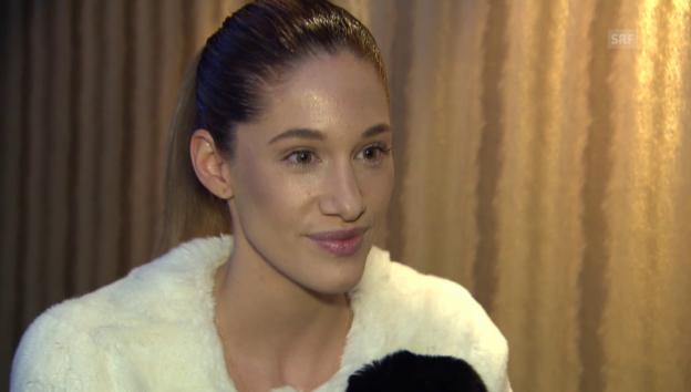 Video «Bianca Gubser Keyman über ihre Hochzeit und ihren Mann» abspielen